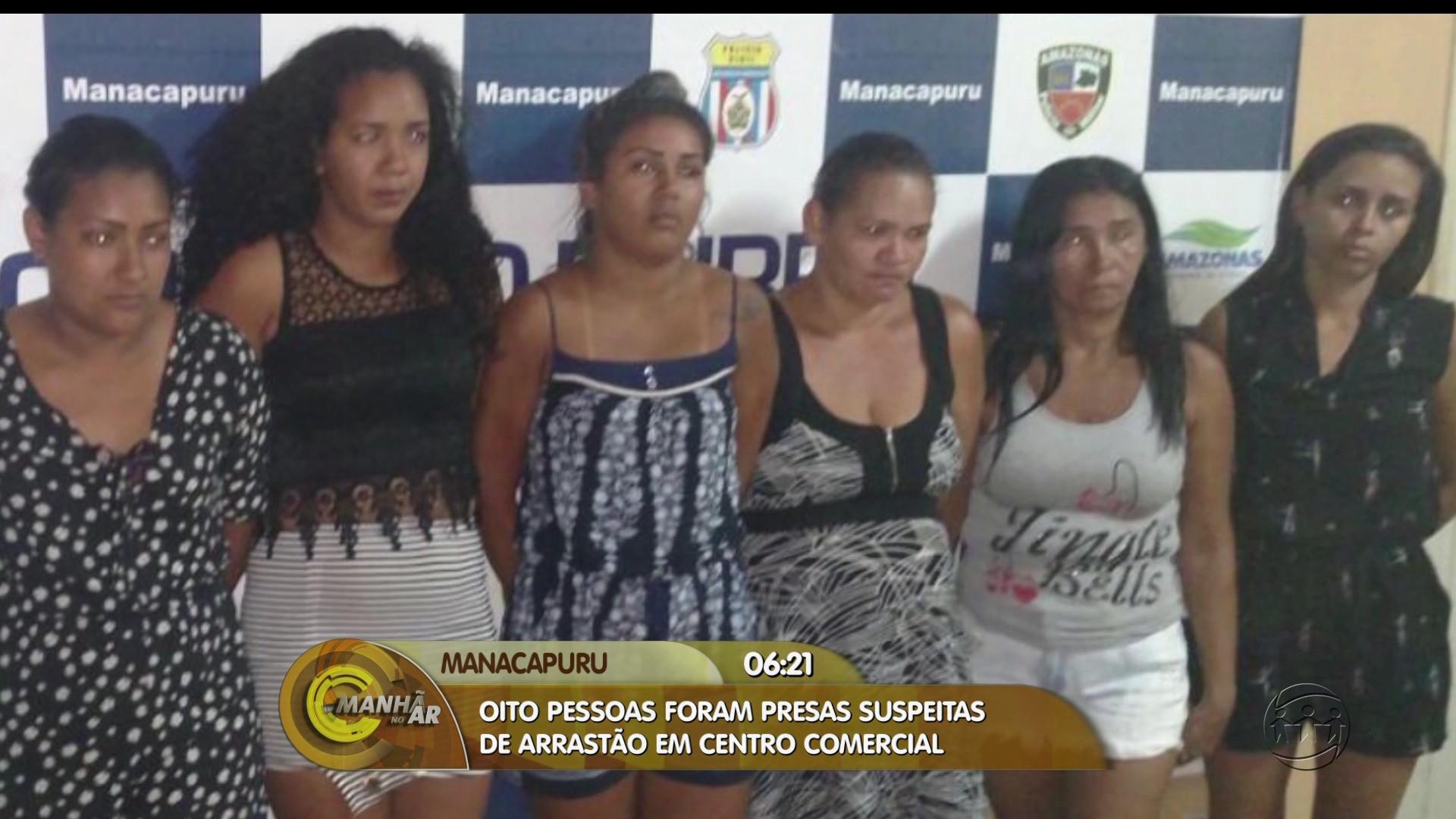 QUADRILHA É PRESA POR ARRASTÃO EM LOJAS DE MANACAPURU