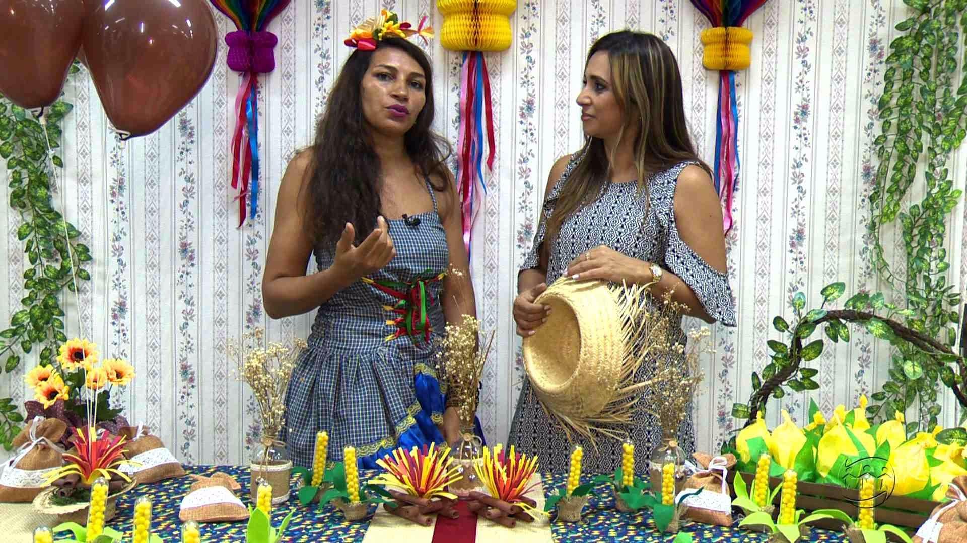 CONFIRA DICAS DE DECORAÇÃO PARA AS MESAS DE FESTAS JUNINAS - MAGAZINE - 22/06/17