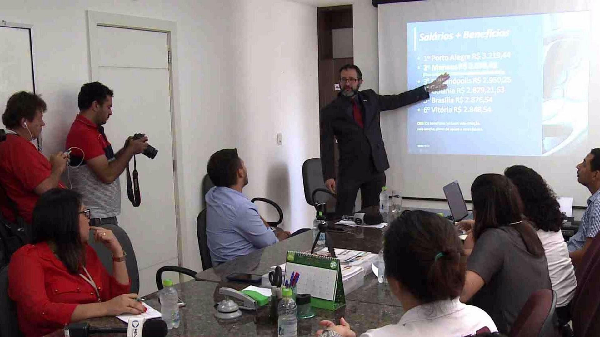 SINETRAM AFIRMA QUE NÃO HOUVE JUSTIFICATIVA PARA A GREVE - Alô Amazonas - 26/06/17