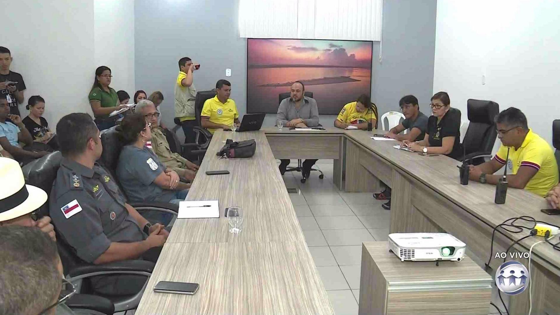 SECRETARIA APRESENTA PLANO DE SEGURANÇA PARA O FESTIVAL DE PARINTINS - Alô Amazonas - 27/06/17