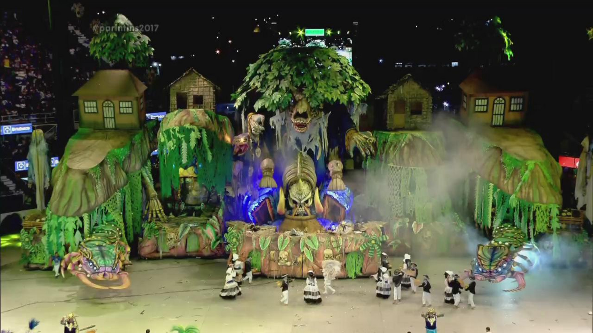 CONFIRA A APRESENTAÇÃO DA LENDA AMAZÔNICA DO BOI CAPRICHOSO - Terceira Noite - 02/07/17