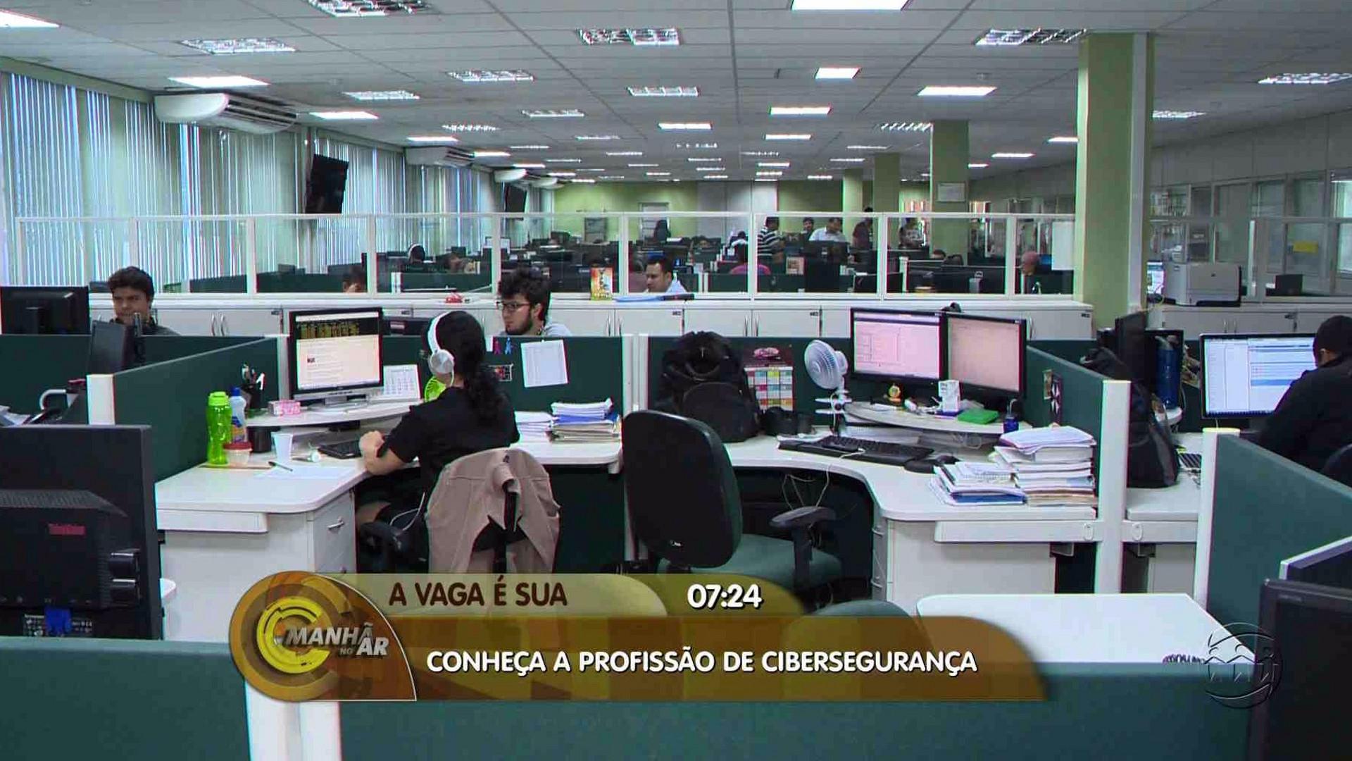 OPORTUNIDADE: CRESCE A BUSCA POR PROFISSIONAIS EM CIBERSEGURANÇA NO MERCADO - Manhã no Ar 14/08/17