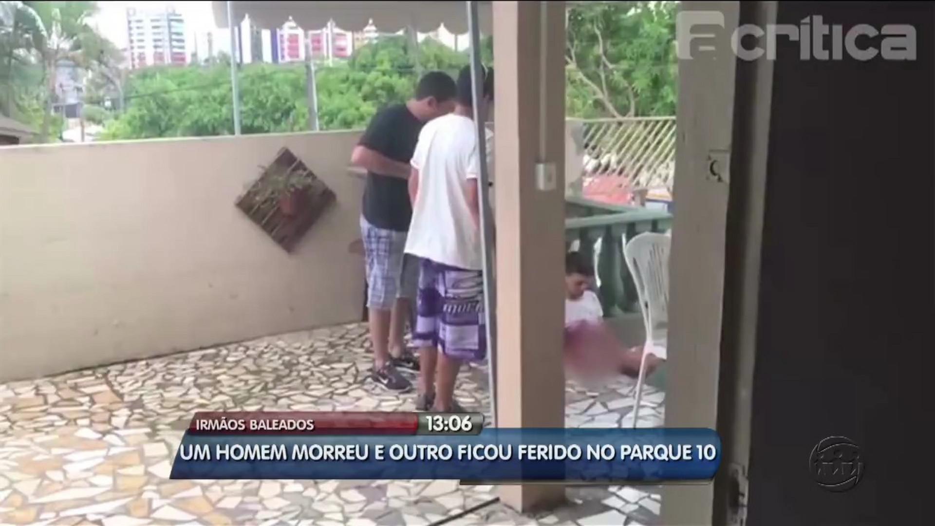 DOIS IRMÃOS SÃO BALEADOS NO PARQUE 10 - Alô Amazonas - 14/08/17