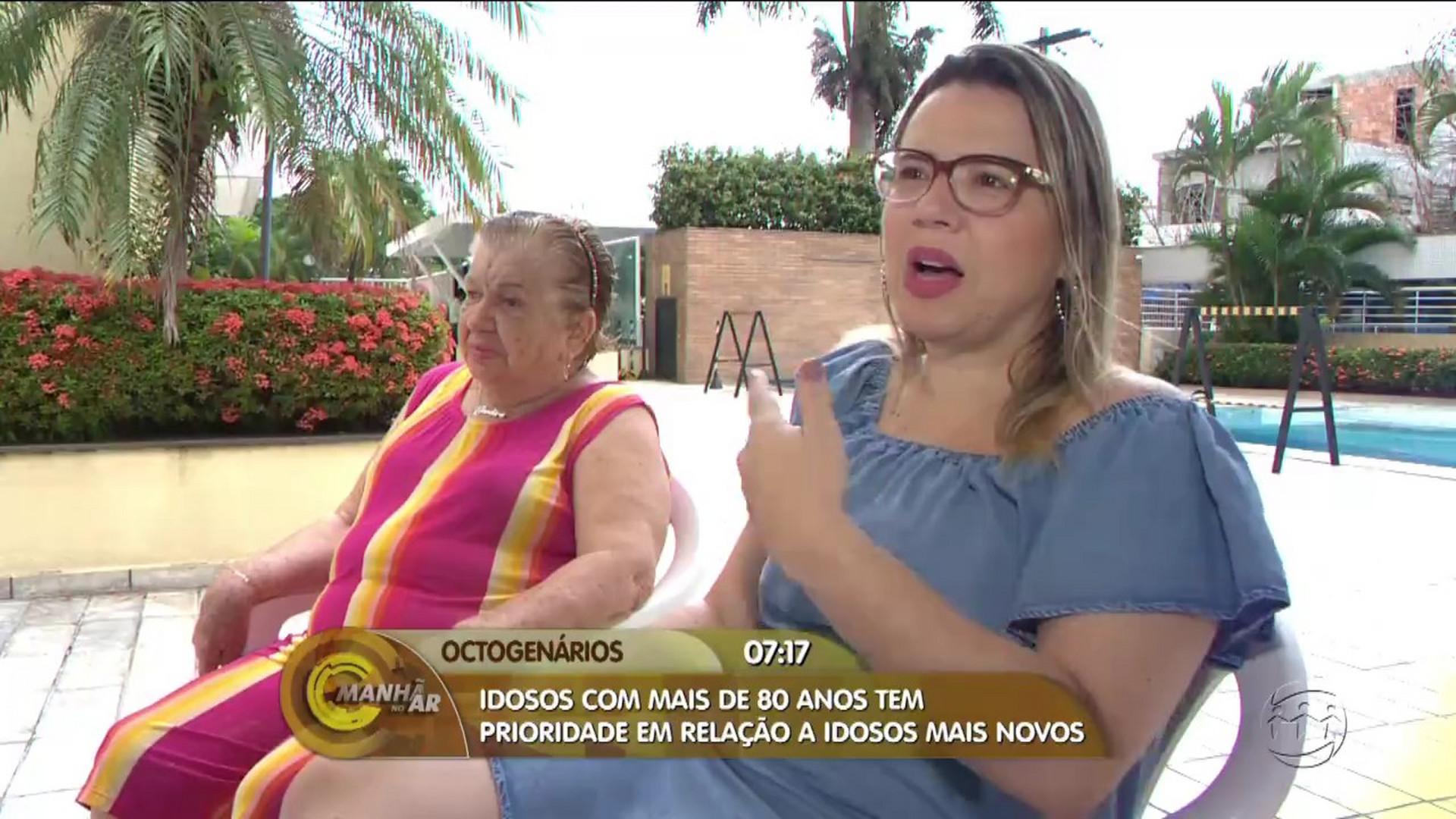 IDOSOS COM MAIS DE 80 ANOS PASSAM A TER PRIORIDADE ESPECIAL - Manhã no Ar 17/08/17 - Alô Amazonas 17/08/2017