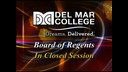 DMC Board of Regents Called Meeting (8/21/2017)