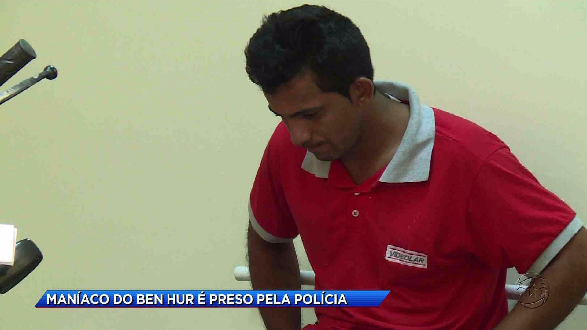 MANÍACO DO BEN HUR É PRESO NO CAREIRO DA VÁRZEA - Cidade Alerta Manaus 17/10/17