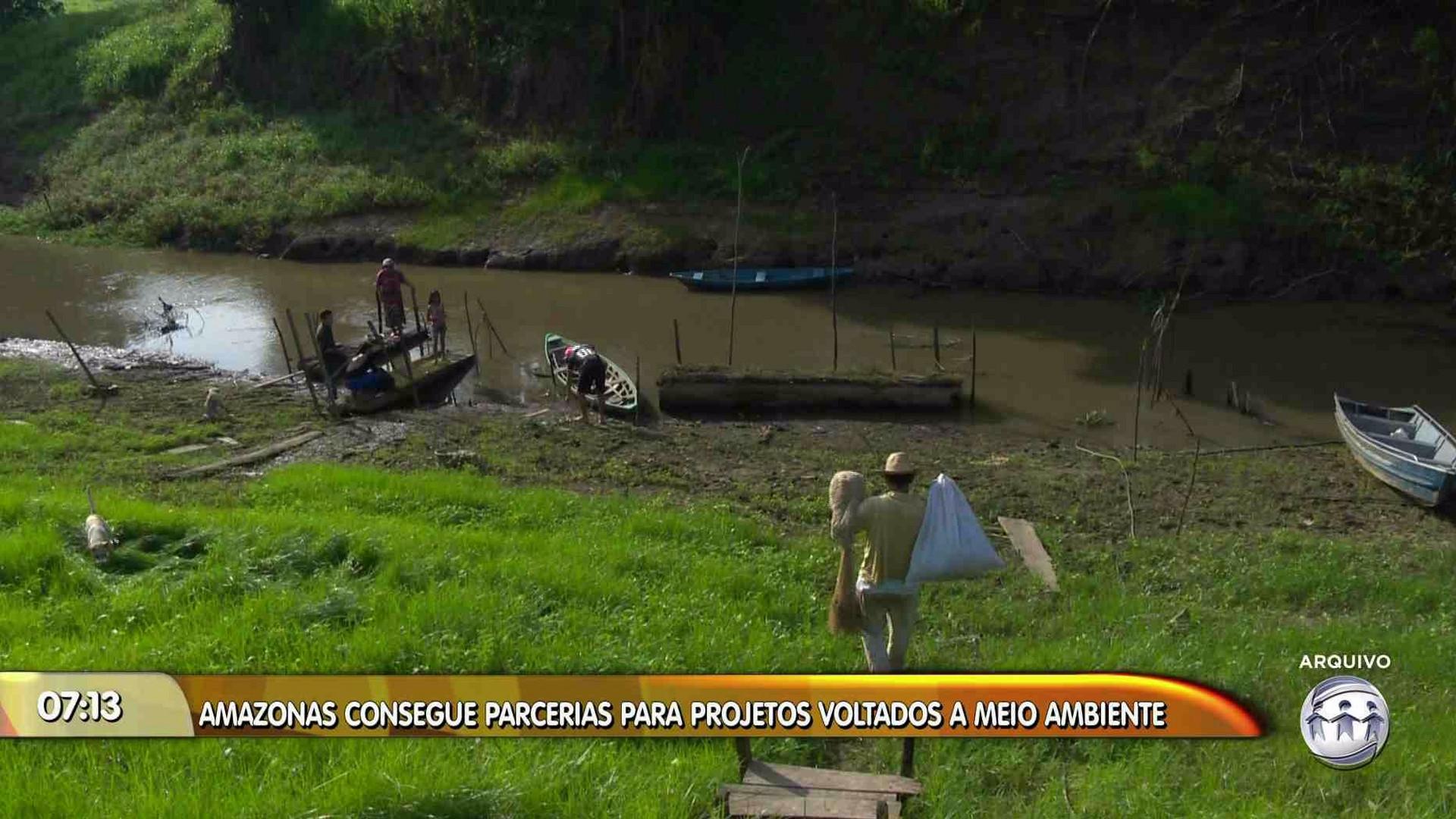 AMAZONAS CONSEGUE PARCERIAS PARA PROJETOS VOLTADOS AO MEIO AMBIENTE - Manhã no Ar 24/11/17 - Manhã no Ar 24/11/2017