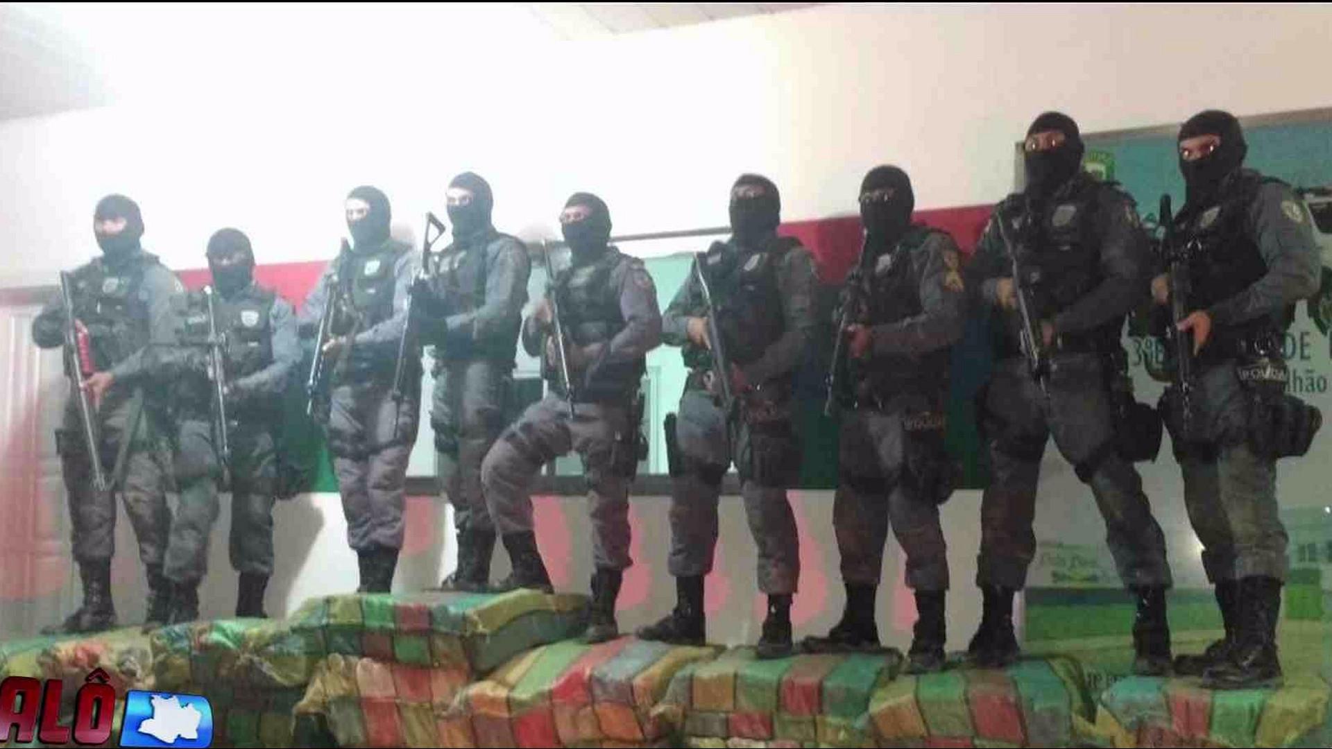 POLÍCIA APREENDE MAIS DE 1 TONELADA DE DROGAS EM MARAÃ - Alô Amazonas - 08/12/17
