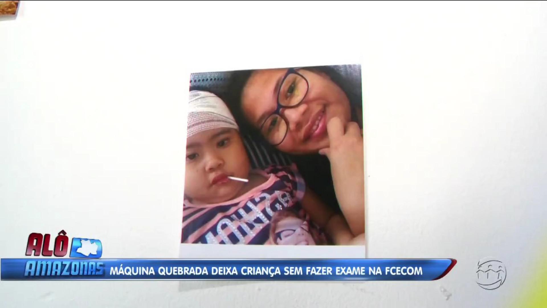 DESCASO: MÁQUINA QUEBRADA PREJUDICA CRIANÇA NA FCECON - Alô Amazonas 11/12/17