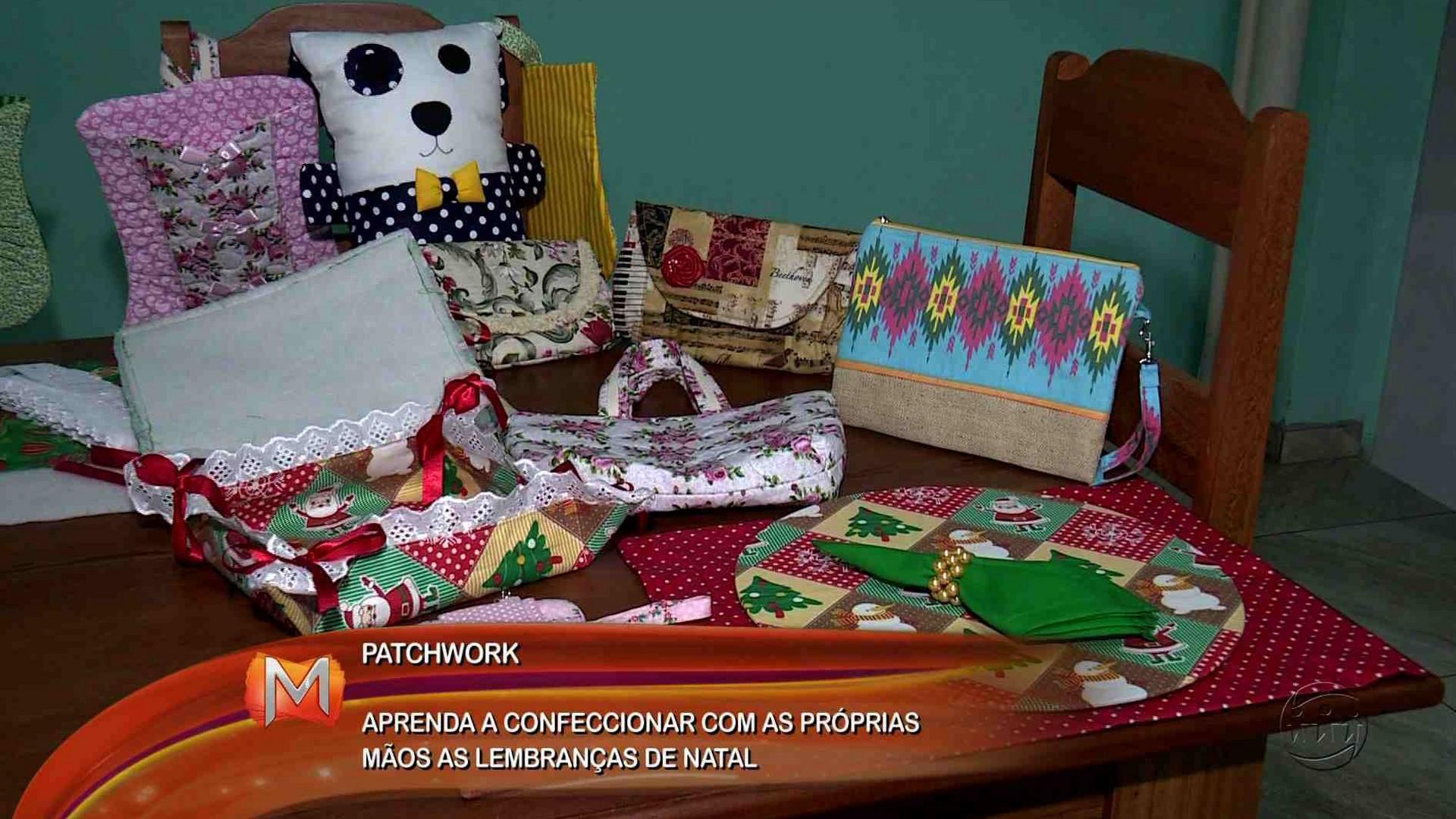 PATCHWORK: APRENDA A CONFECCIONAR PRESENTES DE NATAL - Magazine 13/12/17