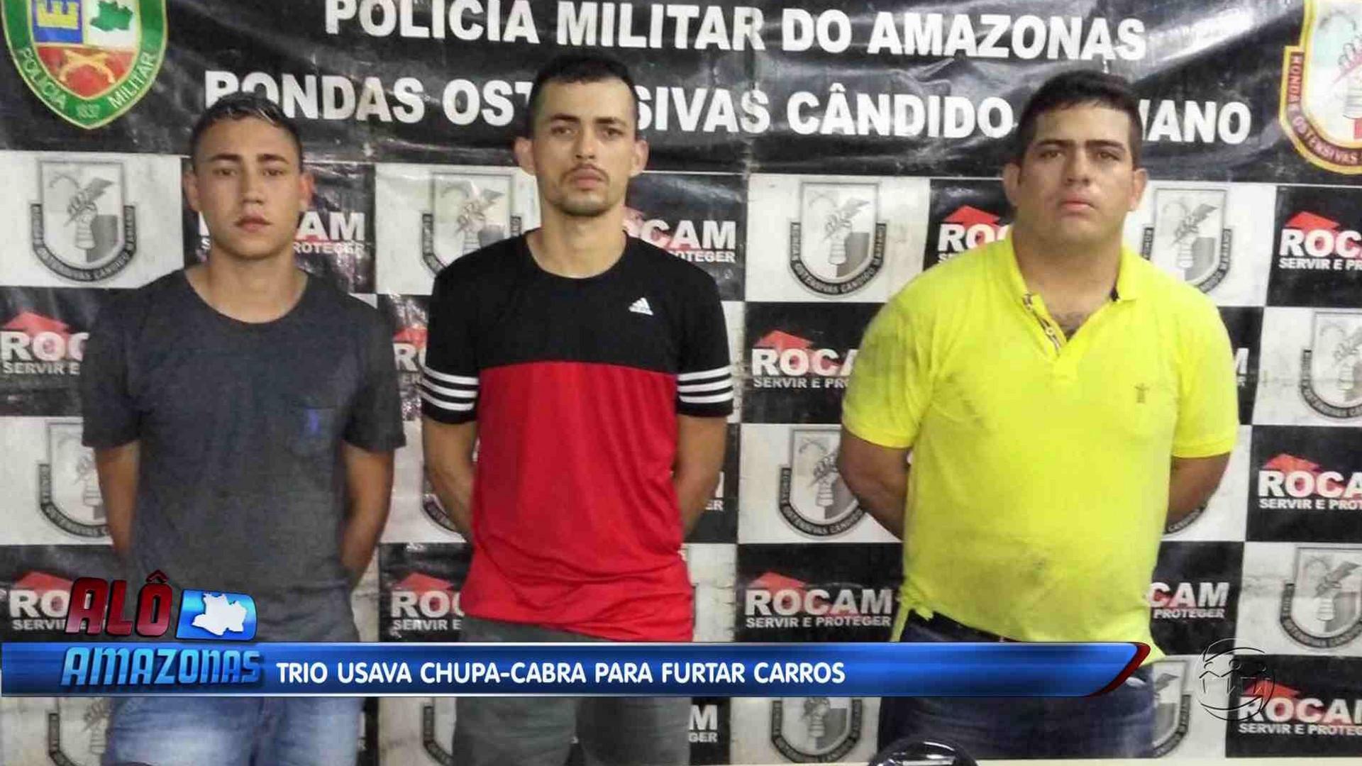TRIO USAVA CHUPA-CABRA PARA FURTOS E ROUBOS - Alô Amazonas 13/12/17