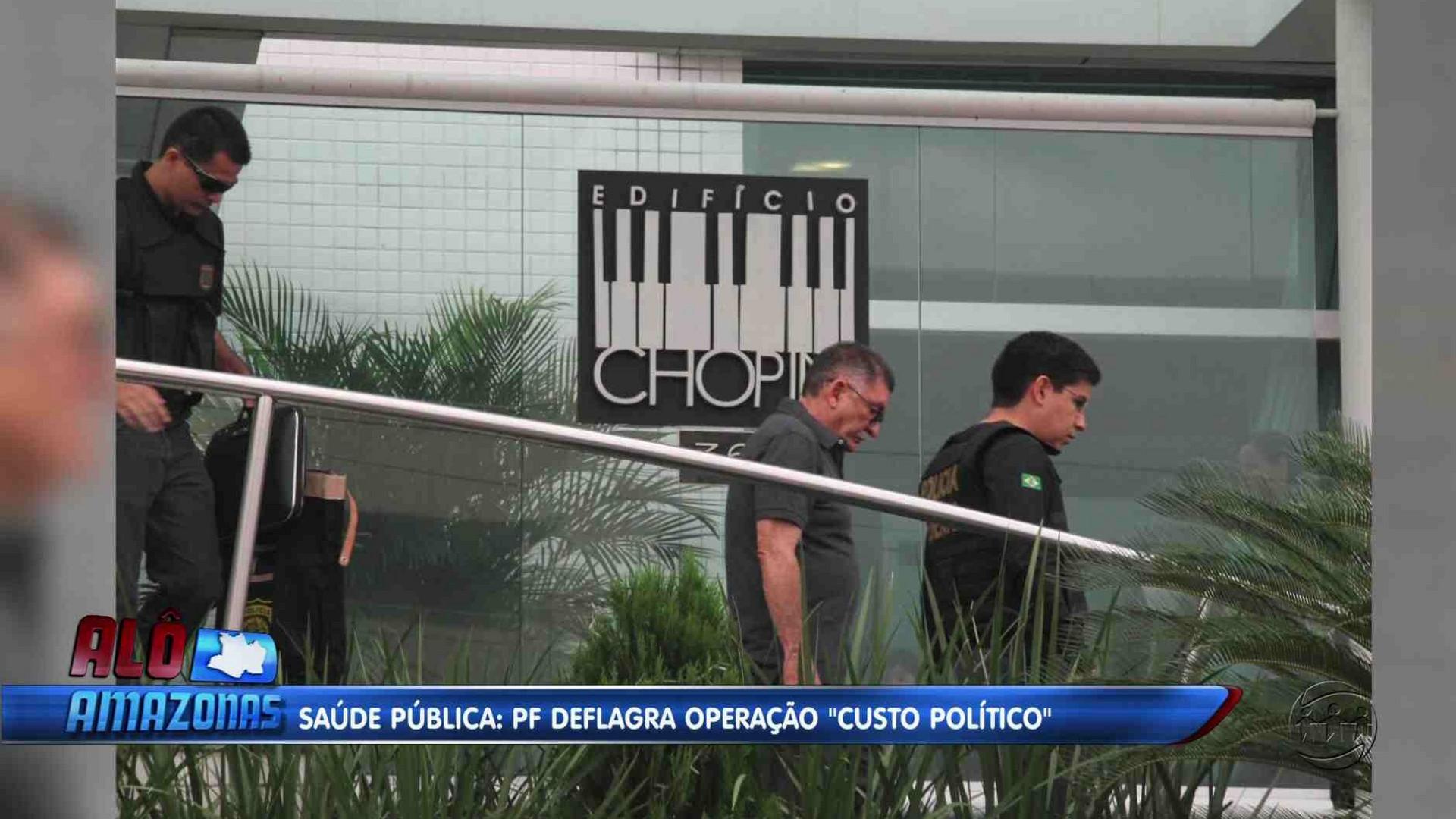 OPERAÇÃO POLICIAL INVESTIGA EX-SECRETÁRIOS SUSPEITOS DE PAGAR PROPINAS - Alô Amazonas 13/12/17