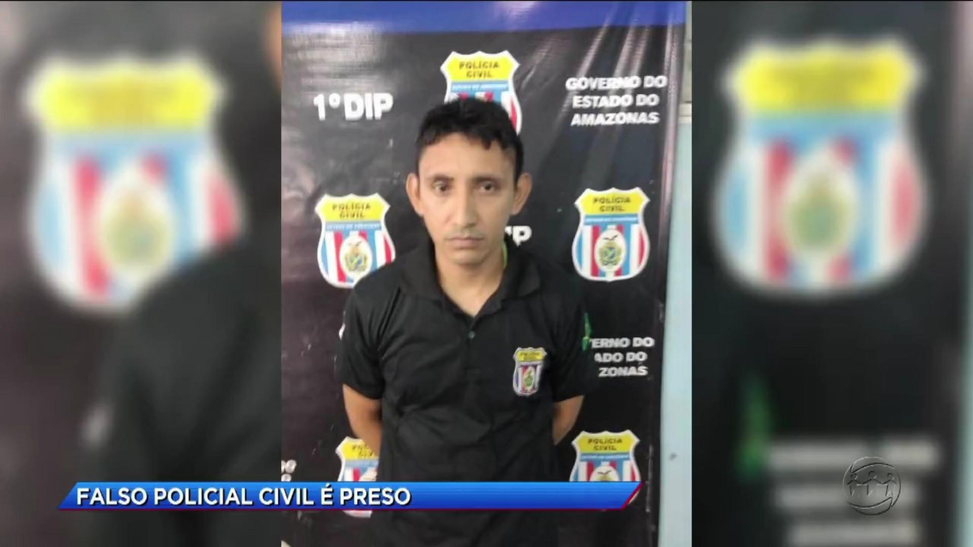 FALSO POLICIAL CIVIL É PRESO - Cidade Alerta Manaus - 13/12/17