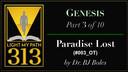 ___003: Paradise Lost - Dr. Bobby Boles