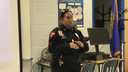 Police Officers Present to Parents at Innovate Conference