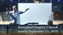 IBC 09-15-19 Sunday Evening Service Immanuel Baptist Church Lebanon, TN