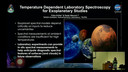 2019 SEEC - MiniTalk - 	Temperature Dependent Laboratory Spectroscopy for Exoplanetary Studies