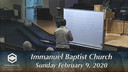 IBC 02-09-20 Sunday Evening Service Immanuel Baptist Church Lebanon, TN