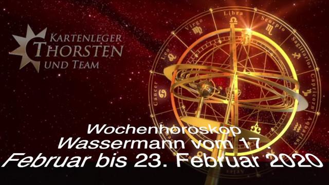 Wochenhoroskop Wassermann Vom 17 Februar Bis 23 Februar 2020