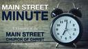MAIN STREET MINUTE - Episode 1