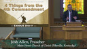 5/17/2020 - Four Considerations from the Fourth Commandment
