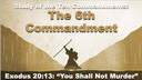5/31/2020 - Josh Allen - The 6th Commandment