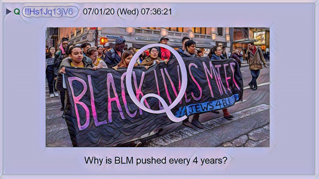 Why Is BLM Pushed Every 4 Years?