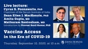 Vaccine Access in the Era of COVID 19: Co-Hosted by the Johns Hopkins India Institute