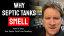 why septic tanks smell