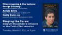 Shaping the Curve:  Maryam Mirzakhani's Influence on the Field of Mathematics
