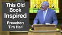 4/29/2018 - Tim Hall - This Old Book Inspired