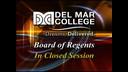 DMC Regents Called Mtg, (1-12-2016)